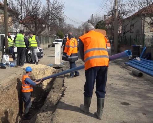 Zamena azbesnih cevi u Zaječaru